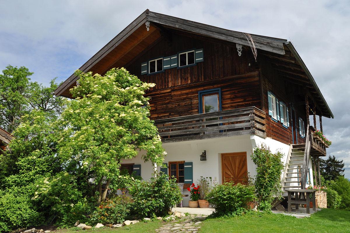 Romantische Balkonwohnung auf dem Labergerhof