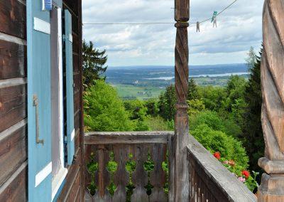 Balkonwohnung beim Laberberg am Samerberg in Oberbayern