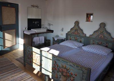 Schlafzimmer in der Balkonwohnung