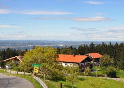 Bauernhof und Ferienhaus